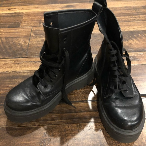 ASOS Shoes   Asos Combat Boots   Poshmark